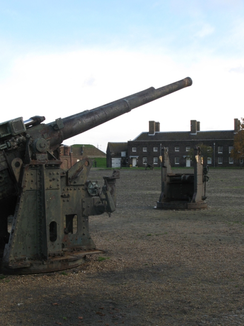 Guns at Tilbury Fort
