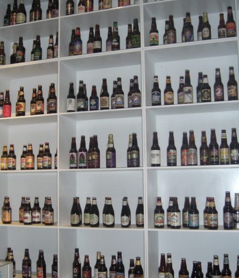 Michael Jackson's beer collection