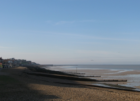 Herne Bay beach