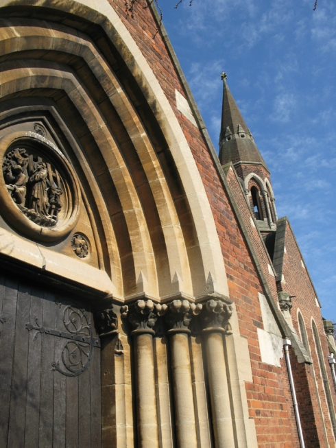Detail St Barnabas Church
