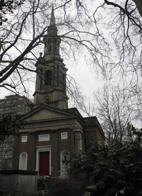 St Paul's Church Shadwell