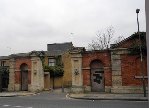 Red Barrack Gates