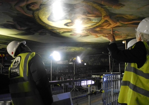 Conservation Painted Hall ORNC