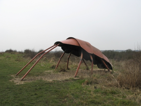 Sculpture at Wat Tyler Park