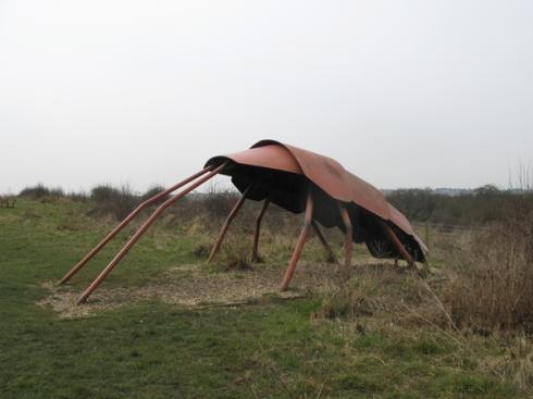 Sculpture at Wat Tyler Park
