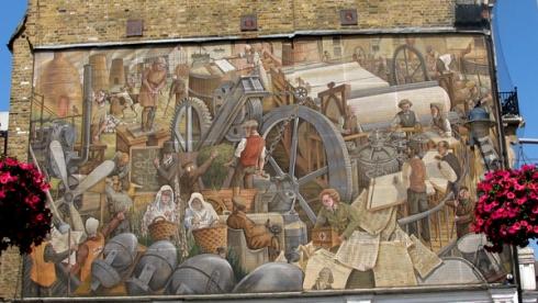 Mural at Bell Corner