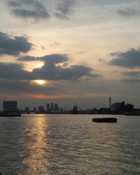 Sunset at Royal Arsenal