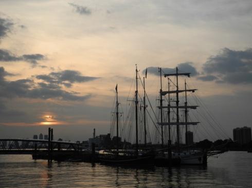 The Tall Ships at Royal Arsenal Woolwich