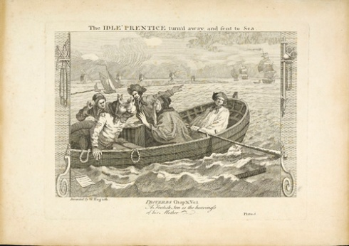 The Idle Prentice turnd away and sent to Sea