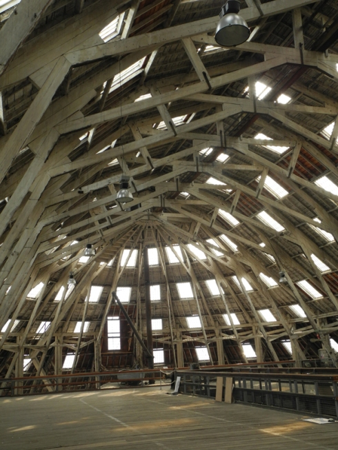 Roof of the Slip Cover Chatham Dockyards
