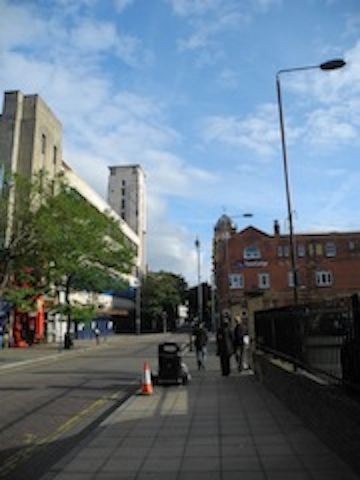 Powis Street today
