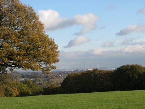 View across the Thames from Shrewsbury Park