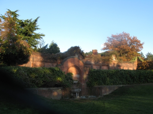 Remains of Castle House