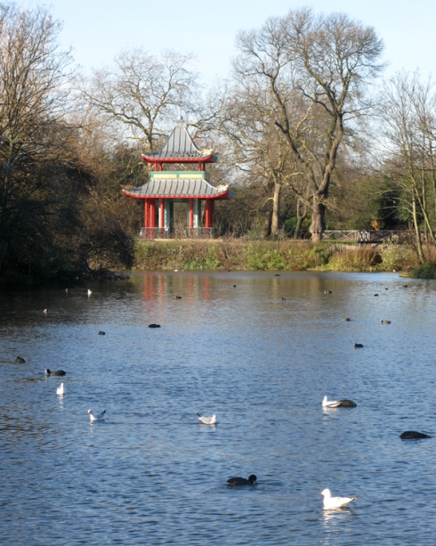 Pagoda in Victoria Park