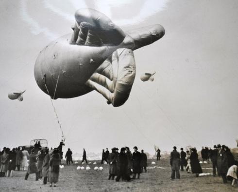 Barrage Balloons in Kidbrooke