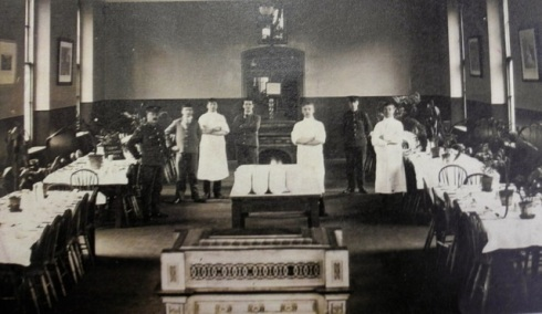 Patients' dining room