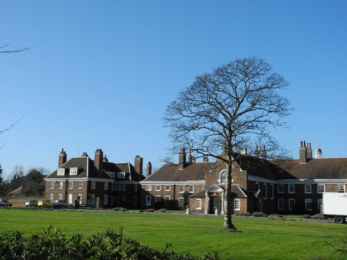 Rear view of Morden College