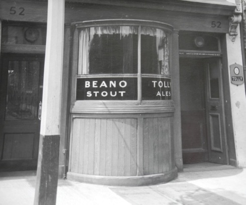 The Tolly when it was a serious drinking establishment