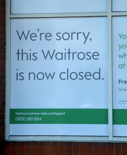 Dartford Waitrose closure