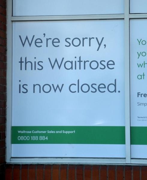 Dartford Waitrose closure