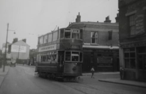 Tram in Plumstead