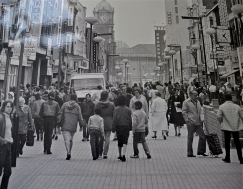 Powis Street in the 1970s