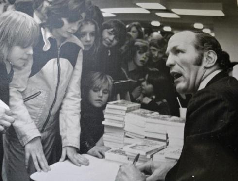 Henry Cooper book launch