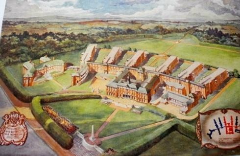 Plan of Memorial Hospital