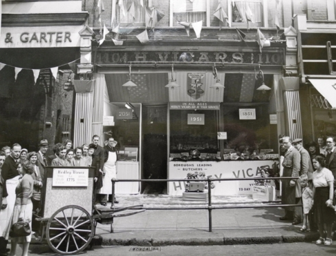 Hedley Vicars Butchers shop