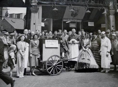 1951 celebrations Powis St Woolwich