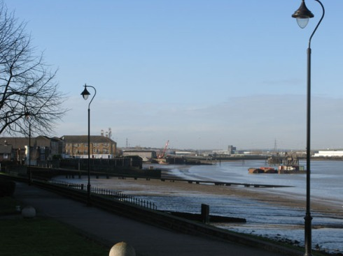 The Thames at Greenhithe