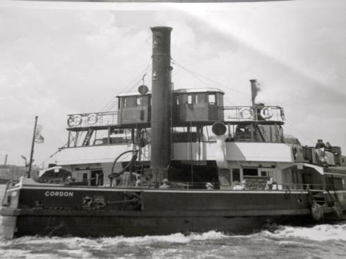 Gordon one of the original Woolwich Ferries