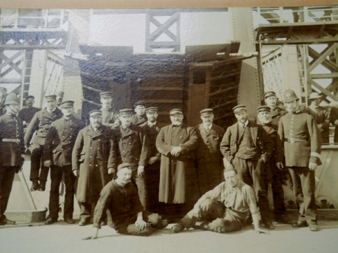 Woolwich Ferry Crew early C20th
